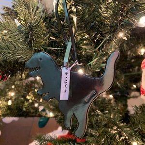 Coach Rexy T-Rex Ornament Hang Tag Bag Charm Dino